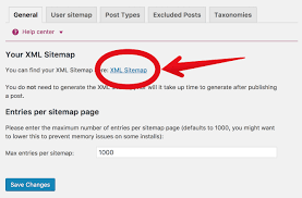that s your brand new shiny xml sitemap