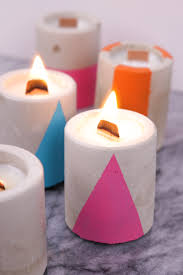 Diy Candles Modern Industrial Diy How To Make Concrete Soy Candles Curbly