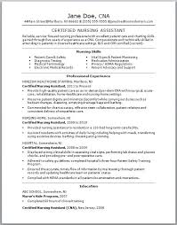 Resume Template For Cna Best Resume Template Cna Resume Templates Free Free Career Resume Template