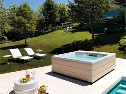 the most 25 designs for indoor and outdoor jacuzzi provide spa experience with regard to outdoor jacuzzi designs