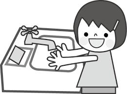 手洗いイラスト 無料イラストフリー素材