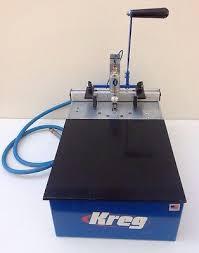 kreg foreman. kreg foreman db55 pneumatic pocket hole machine made in usa