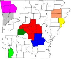 Arkansas metropolitan areas - Wikipedia