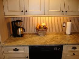 Wainscoting Kitchen Backsplash Kitchen Design Wainscoting Beadboard Backsplash And Countertops