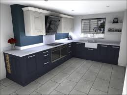painted beaded shaker classic kitchen design in fired charcoal and blizzard white with silestone quartz worktops