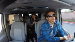 the eric andre show airport shuttle