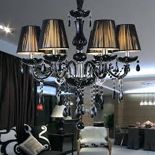 modern black chandeliers morn crystal chanlier black lampshas tech suspension lighting fixture for restaurant in chanliers
