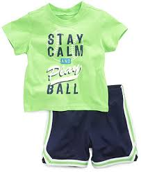 First Impressions Baby Shoes Size Chart First Impressions Baby Boys 2 Piece T Shirt Shorts Set