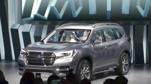 2018 subaru ascent interior. exellent ascent 2018 subaru ascent suv concept 2017 new york international auto show with subaru ascent interior