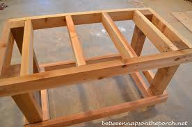 DIY Potting Bench With Decorative Roof  Love Grows WildPlans For A Potting Bench