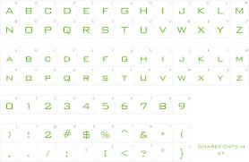 Bank Gothic Bt Light Free Download Free Font Bankgothic Lt Bt