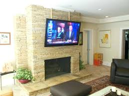 installing flat screen tv over fireplace flat screen installs whether over a fireplace installing flat screen