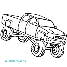 Grave Digger Coloring Page Monster Truck Pictures To Color Monster