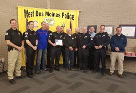 central iowa news you can use kbgg am we salute west des moines sgt tony giampola for going above and beyond the call of duty for the force and his community