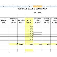 Sales Plan Document Weekly Sales Plan Template Weekly Sales Planner Template With