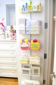 baby girl closet ideas organizing the easy tips back of door buckets