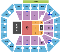 Mohegan Sun Arena Wilkes Barre Seating Chart With Rows Mohegan Sun Arena Seating Chart Rows Seat Numbers And