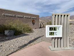 Death Valley Preliminary 130° on August ...