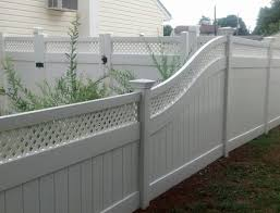 Vinyl fencing Horizontal Georgetown Vinyl Fence South Camden Iron Works