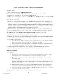 Examples Of Resumes For Federal Government Jobs Awesome How To