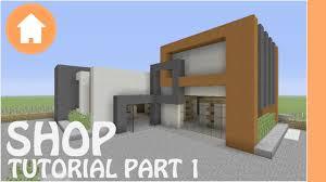 Minecraft Shop Designs Minecraft Tutorial Shop Tutorial Minecraft 1