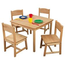 farmhouse kids 5 piece square table and chair set furniture chair set59 furniture