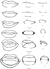 Anime yelling mouth drawing step by step. Anime Mouth Step By Step Novocom Top