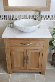 White Marble Top Stone Basin Choice 502WMSBC  Sink Bowls On Top Of Vanity3