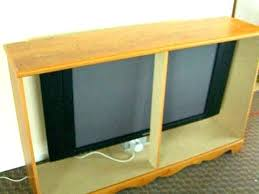 cabinet lift hideaway television office tv outdoor plans