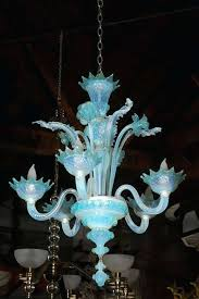 vintage murano glass chandelier or a beautiful murano glass chandelier from the 1950s has five arms