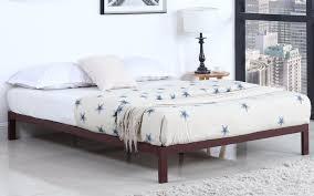 metal platform bed frame. Ghana Modern Metal Platform Bed Frame In Brown Lifestyle E