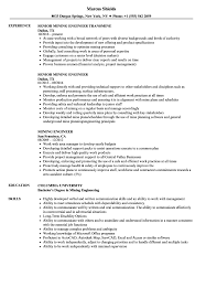 Mining Engineer Resume Samples Velvet Jobs