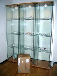 ikea glass display cabinet display cabinet contemporary display cabinet display cabinet light all lighted curio lock