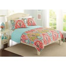 Best 25+ Coral bedspread ideas on Pinterest | Coral and grey ... & 3 Pc Aqua Teal Blue Red KING Exotic Moroccan Quilt Coverlet Jewel Damask  Boho in Home & Garden, Bedding, Quilts, Bedspreads & Coverlets Adamdwight.com