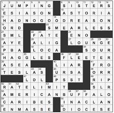 L.A.Times Crossword Corner: Jeffrey Wechsler