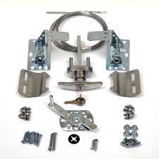 garage door lock handle. Garage Door Lock Kit W/ Spring Latch - Keyed In Handle