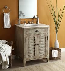 Unfinished Oak Bathroom Cabinets Interior Alluring Unfinished Oak Wood Bathroom Vanity Blue Bowl