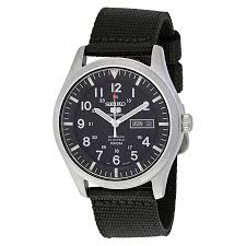 seiko 5 sport automatic black canvas men s watch snzg15 seiko 5 seiko 5 sport automatic black canvas men s watch snzg15