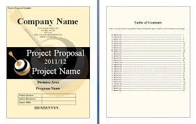 It Project Proposal Template Rome Fontanacountryinn Com
