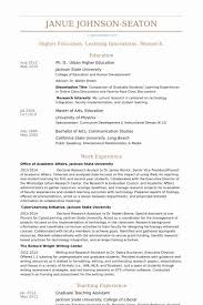 Graduate Teaching Assistant Resume Compatible Picture Example ...