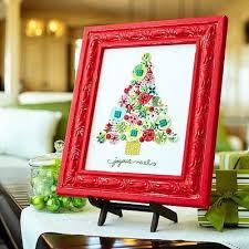 50 Ideias Criativas De Decoração Para O Natal  Faça Você Mesmo Christmas Picture Frame Craft Ideas