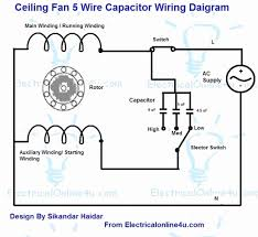 ceiling fan capacitor wiring trusted wiring diagrams \u2022 ceiling fan wiring diagram - with capacitor connection c61 ceiling fan capacitor top wire ceiling fan capacitor wiring rh sensue net ceiling fan wiring capacitor switch hunter ceiling fan capacitor wiring