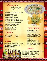 mexican food appetizers menu. Fine Appetizers Photo Of El Jaliciense Mexican Restaurant  Nashville TN United States  Look At Inside Food Appetizers Menu E