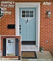 front door trimBest 25 Exterior door trim ideas on Pinterest  DIY exterior door