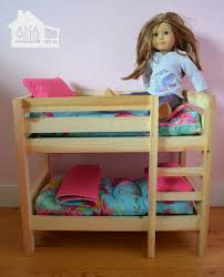 doll bunk beds for american girl doll and 18 doll american furniture patterns