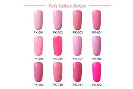Gel Lak Pink Color Series Magic Nails Gelové Nehty