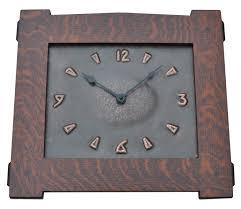 arts and crafts clock arts and crafts copper wall clock