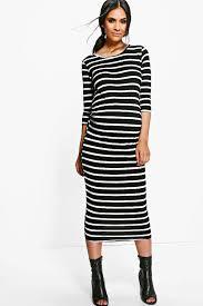 maternity striped