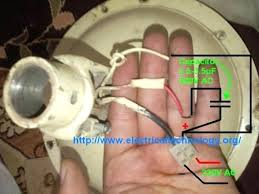 microwave fan wiring diagram how to connect install a capacitor with a ceiling fan electrical microwave