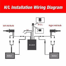 h13 bulb wiring diagram h13 image wiring diagram 55w hid xenon headlight fog light kit h1 h3 h4 h7 h11 9005 9006 on h13